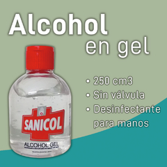 SANICOL - Alcohol en gel