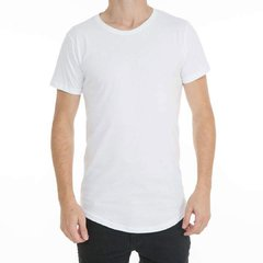 Remera Long Fit Blanca Frente #2
