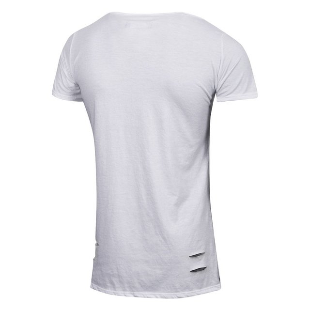 Remera Long Fit Blanca Valkymia Mamba Espalda