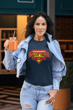 Camiseta Super mom na internet
