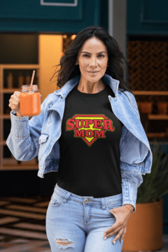 Camiseta Super mom - comprar online