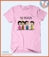 Camiseta The Beatles - Snoopy