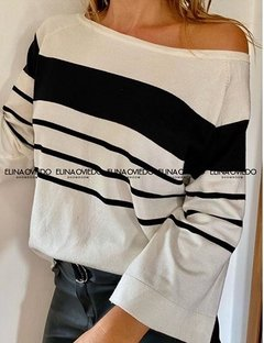 BB SWEATER RAYADO