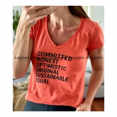 REMERA COMMITTED (24052) - comprar online