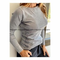SWEATER STRASS (D0183) - ELINA OVIEDO SHOWROOM