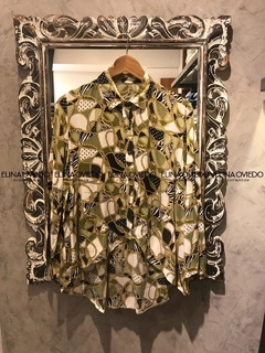 CAMISA IRREGULAR (22441) - ELINA OVIEDO SHOWROOM