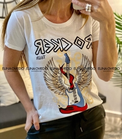 REMERA ROCKER (18291465) en internet