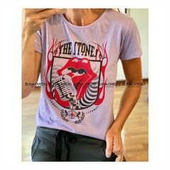 REMERA THE STONES (18291600) - ELINA OVIEDO SHOWROOM