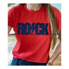 REMERA ROCK (18291669) - ELINA OVIEDO SHOWROOM