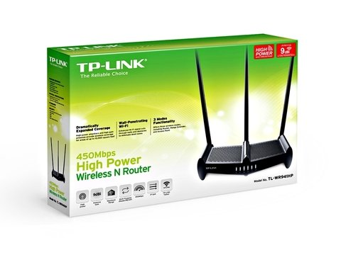 ROUTER TP-LINK WIFI 450MBPS 3 ANTENAS TL-WR941HP - Depot Centro