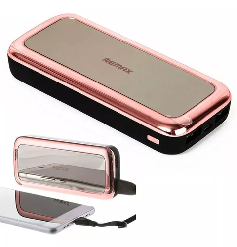 Cargador Portail 5500 Mah Remax Rpp-35 Power Bank Mirror