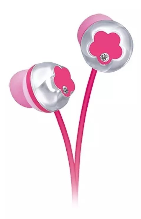 Panasonic Rp-hjf10pp Auriculares In Ear Flower Power Bass