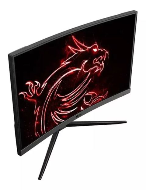 Monitor Msi Optix G24c4 144hz 1ms Freesync Curvo
