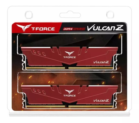 Memoria Ram 16gb Teamgroup T-force Vulcan Z Ddr4 Kit 2 X 8gb - comprar online