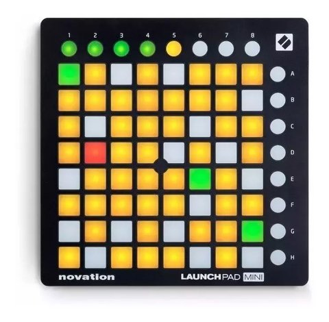 Controlador Midi Usb Launchpad Mini Mk2 Novation