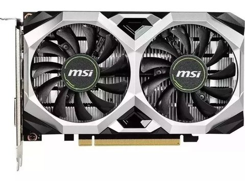 Placa De Video Msi Gtx 1650 Ventus Xs 4gb Oc Gamer Hdmi Dvi - comprar online