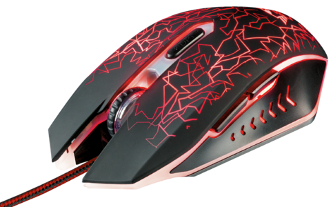 Mouse Pc Gamer Trust Gxt 105 Izza Iluminación Led Rgb - comprar online