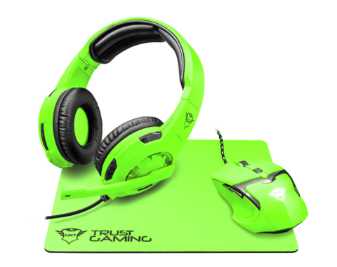 Auricular + Mouse + Pad Trust Gxt 790 Spectra Gaming Combo