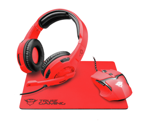 Auricular + Mouse + Pad Trust Gxt 790 Spectra Gaming Combo en internet
