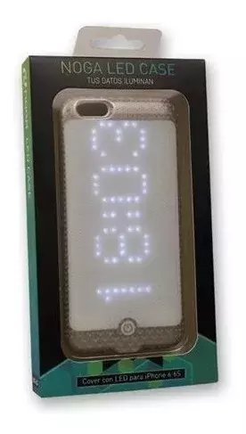 Funda iPhone 6 6s Led Case Bluetooth Noga - comprar online