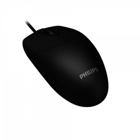 Mouse Philips M234 Cable Usb Ergonomico 1000 Dpi Pc Notebook
