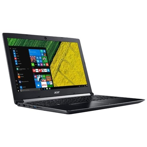 NOTEBOOK ACER INTEL I7 7500U A515-51-75 RAM 8GB DISCO DE 1TB WINDOWS 10 HOME