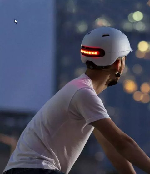 Casco Bicicleta Led Smart Sh50l Smart4u - tienda online