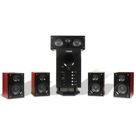 Home Theater 5.1 Bluetooth Fm Usb Sd Control Noga Net - comprar online