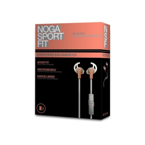 AURICULAR BLUETOOTH NOGANET IN EAR SPORT - Depot Centro