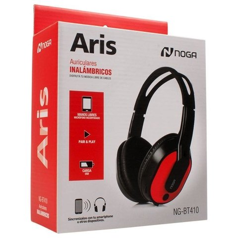 Auriculares Bluetooth Noga Manos Libres Pc Notebook Bt410 - comprar online