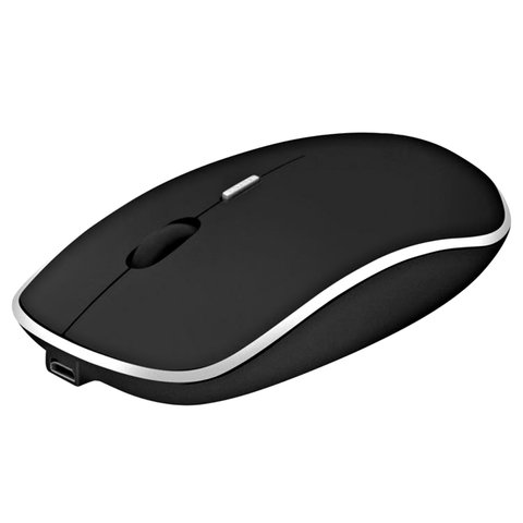 Mouse Inalambrico Con Bateria Litio Recargable Noga Net
