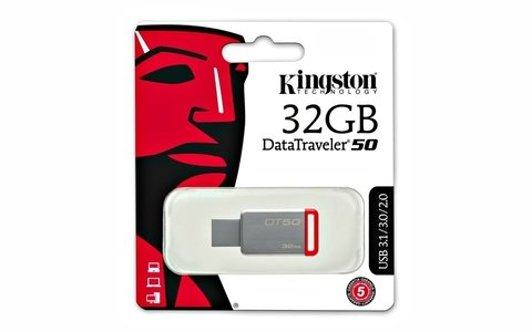 PENDRIVE KINGSTON DT50 32GB - comprar online