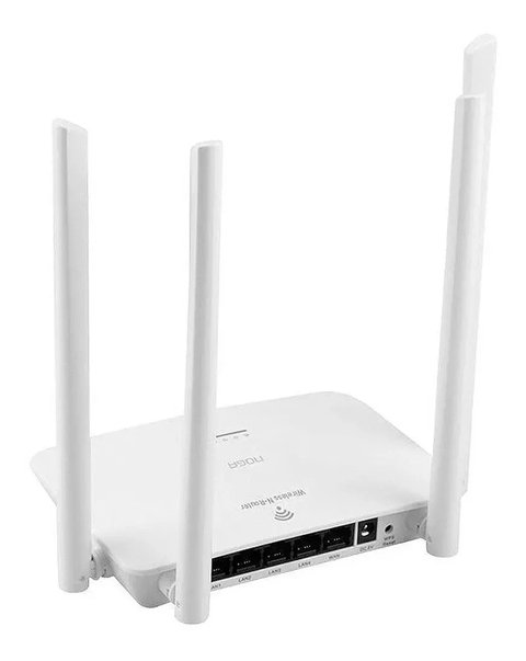 Router Inalambrico Wifi Noga Wr08 4 Antenas 300mbps Wps - comprar online