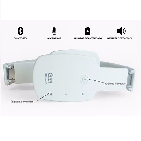 AURICULAR BLUETOOTH G53 HEADSET BT 4,0 + EDR AG-H15 en internet