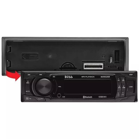 Stereo Boss 625ua Usb Sd Mp3 Am Fm Auxiliar 200w Outlet - comprar online