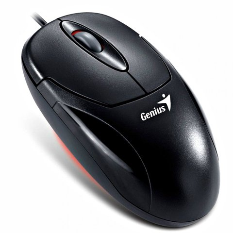 MOUSE GENIUS XSCROLL USB G5 OPTICAL BLACK