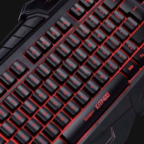 COMBO GAMER TECLADO + MOUSE + PAD MARVO KM400 en internet
