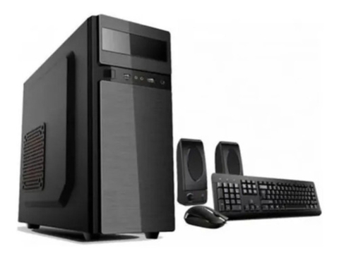 Kit Gabinete Pc Jalatec K39 Con Fuente Jt 500w