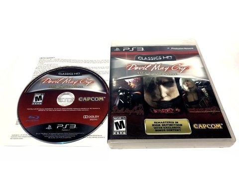 JUEGO ORIGINAL PS3 DEVIL MAY CRY HD COLLECTION FÍSICO SELLADO