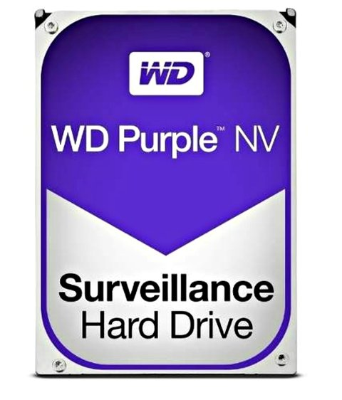 DISCO RIGIDO INTERNO WESTERN DIGITAL PURPLE 3TB SURVEILLANCE 64MB - comprar online