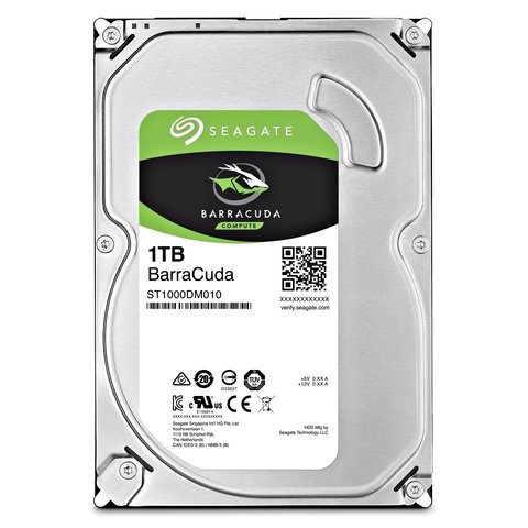 Disco Rigido Hdd Seagate Barracuda 1tb 64mb 7200rpm Sata 3