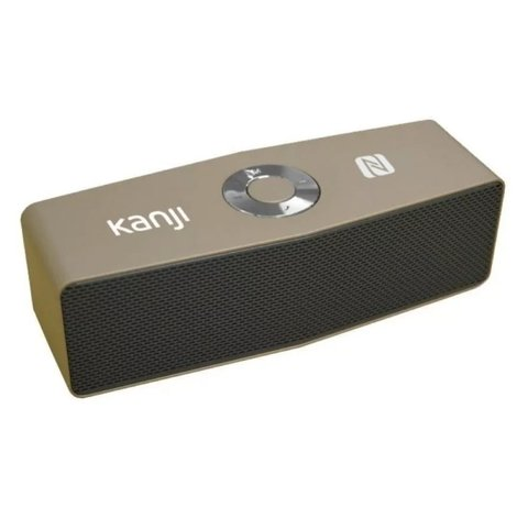 Parlante Bluetooth Portatil Kanji Spika Bt Metal Garantia
