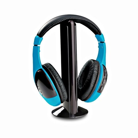 AURICULAR PANACOM HP-9686 BL AZUL - WIRELESS HEADSET