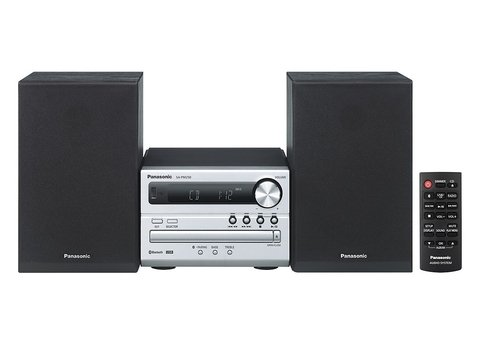 Microcomponente Panasonic Con Bluetooth Usb Cd Fm SC-PM250PR-S - comprar online