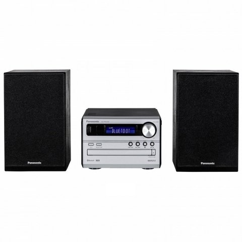 Microcomponente Panasonic Con Bluetooth Usb Cd Fm SC-PM250PR-S