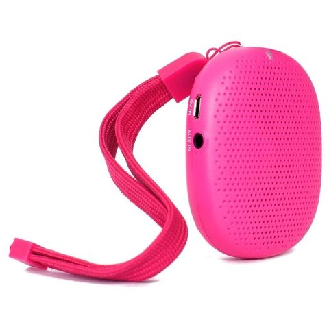 PARLANTE BLUETOOTH ISOUND AVH POP DROP ROSA O NEGRO