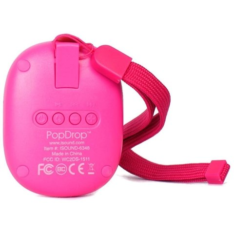 PARLANTE BLUETOOTH ISOUND AVH POP DROP ROSA O NEGRO en internet