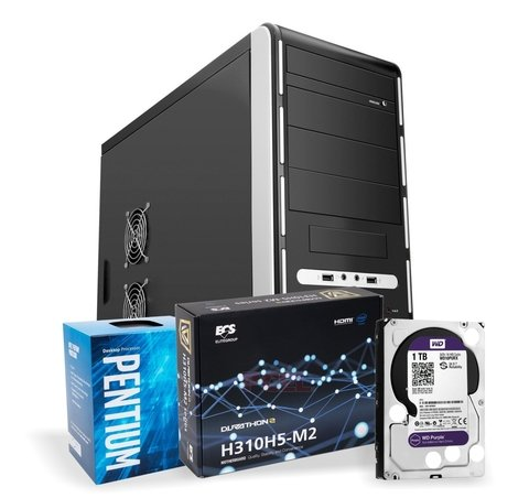 Pc de Escritorio CPU HOME / OFFICE Pentium G4400 Disco 1TB 8gb DDR4 Fuente