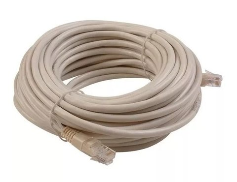 Patch Cord Cable De Red Rj45 A Rj45 10 Metros Noga