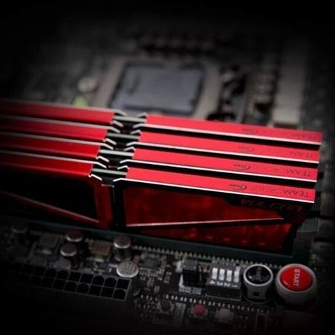 Memoria Team Group Ddr4 4gb 2400mhz 14 Vulcan Red Pc - Depot Centro